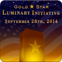 Marine Parents Gols Star Luminary Initiative