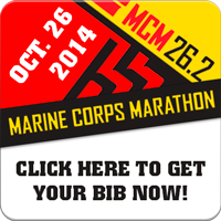 Marine Parents Marine Corps Marathon Bibs