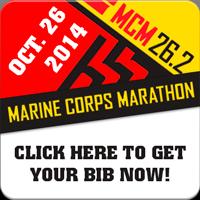 Marine Parents Marine Corps Marathon Bibs