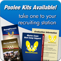 Marine Parents Recruit Poolee Kits