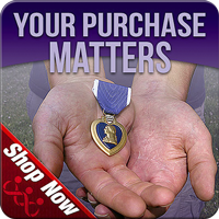Marine Parents Purplhe Heart Hero Support