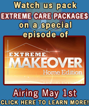 Watch Us on Extreme Makeover Home Edition