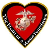 The Heart of a Marine Foundation logo