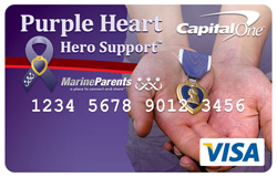 Introducing Marine Parents credit cards from Capital One!