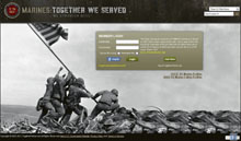 Screenshot of TogetherWeServed.com