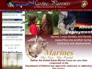 15 Years - MarineParents.com Website