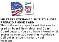 AT&T Global Calling Card for Ship to Shore Calls