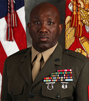 The Commandant and Sergeant Major of the Marine Corps