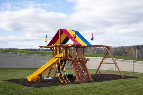 Playground set for Tyler Huffman