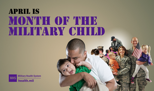 April is the Month of the Military Child