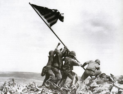 Iwo Jima Raising the Flag