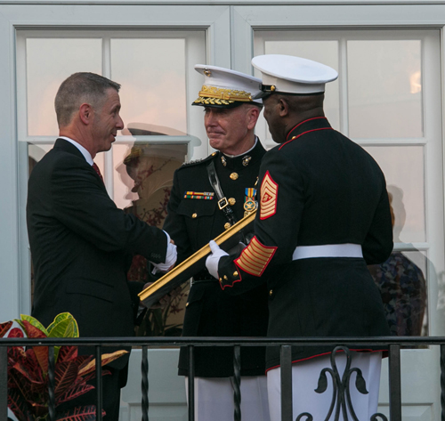 Congressman Named Honorary Marine