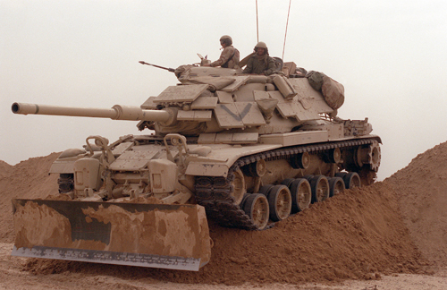 First Marine Expeditionary Force Attacks Iraqi Defenses