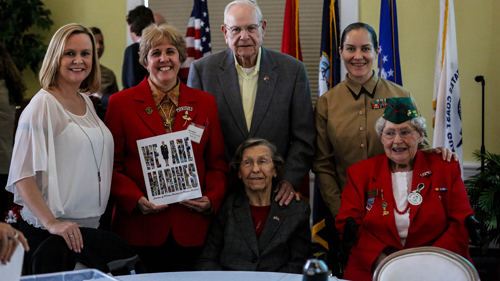 Female Marines Celebrate 73 Years of Service