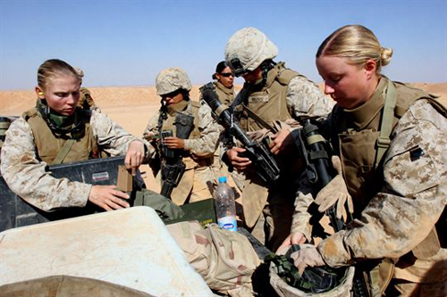 Corps Approves First Women for Infantry Positions