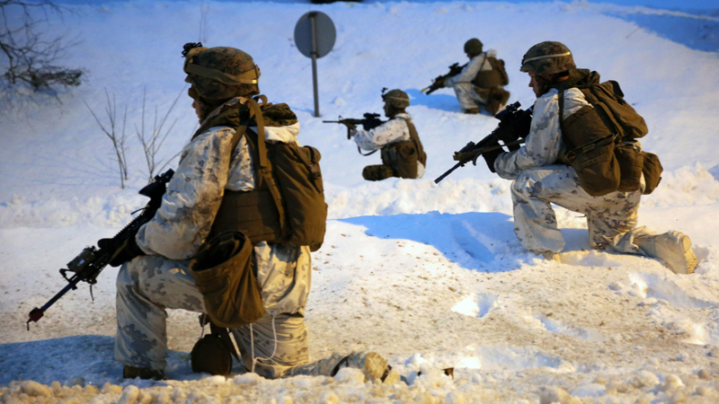 Marines May Head to Norway