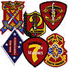 United States Marine Corps Divisions Regiments Battalion and Units