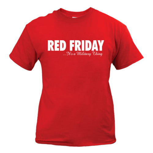 red friday it's a military thing tshirt