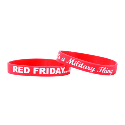 red friday wristbands