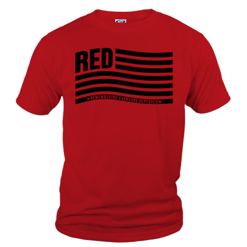 remember everyone deployed tshirt