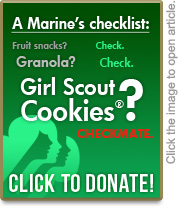 Girl Scout Cookies donate now