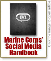Social Media Handbook from the Marine Corps