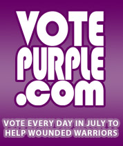 Vote Every Day for Wounded Warriors to Win a $25,000 Grant