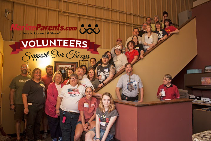 Volunteers Support Our Troops at MarineParents.com