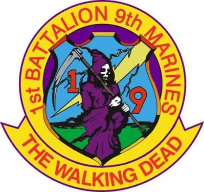 USMC Marines 1 9 Walking Dead Logo