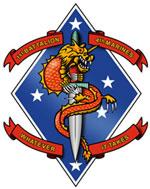 USMC Velcro Patches | eBay  |1st Battalion 4th Marines Logo