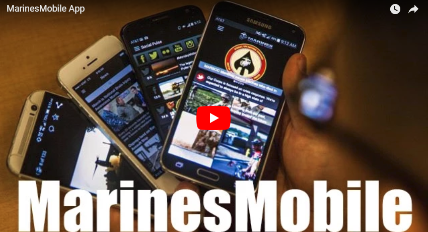 Marine Corps Mobile App
